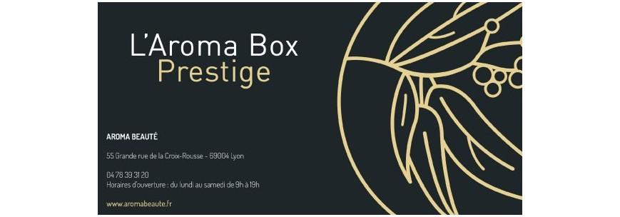 Chèques cadeaux Aroma box - Aroma Beauté Institut Lyon 4